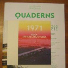 Libros de segunda mano: QUADERNS D'ARQUITECTURA I URBANISME. COL·LEGI D'ARQUITECTES DE CATALUNYA. NÚM.262, JUNY 2011.. Lote 105484275