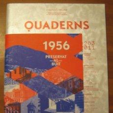 Libros de segunda mano: QUADERNS D'ARQUITECTURA I URBANISME. COL·LEGI D'ARQUITECTES DE CATALUNYA. NÚM.263, SETEMBRE 2011.. Lote 105491067