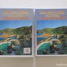 Libros de segunda mano: ARCHITECTURAL HOUSES Nº 3: HOUSES BY THE SEA. CASAS EN EL MAR. RM84789. . Lote 105583331
