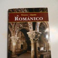 Libros de segunda mano: TESOROS DE ESPAÑA EL ROMÁNICO ISIDRO G. BANGO TORVISO ED. ESPASA 2000. . Lote 105645639