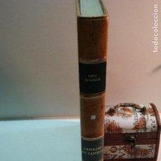 Libros de segunda mano: CONDE DE GAMAZO: CASTILLOS EN CASTILLA (1955). Lote 105773915
