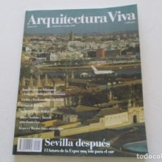 Libros de segunda mano: VV.AA. ARQUITECTURA VIVA. Nº 26. SEVILLA DESPUÉS. RMT84912. . Lote 105902775