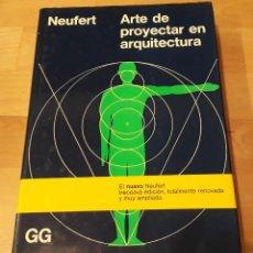 Libros de segunda mano - Neufert. Arte de proyectar en arquitectura. 13ª edición - 107282035