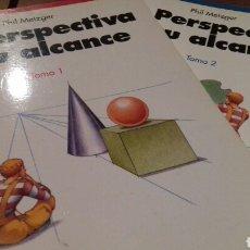 Libros de segunda mano: LA PERSPECTIVA A SU ALCANCE.2 TOMOS.PHIL METZGER. Lote 107375228