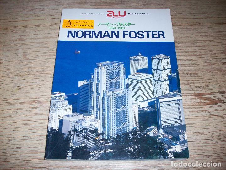 ARCHITECTURE AND URBANISM. NORMAN FOSTER 1964 - 1987 . EXTRA EDITION 1988 (Libros de Segunda Mano - Bellas artes, ocio y coleccionismo - Arquitectura)
