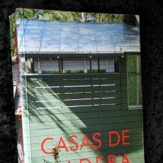 Libros de segunda mano: CASAS DE MADERA - AITIM - LOS SISTEMAS CONSTRUCTIVOS A BASE DE MADERA APLICADOS A LAS VIVIENDAS UNI. Lote 107605503