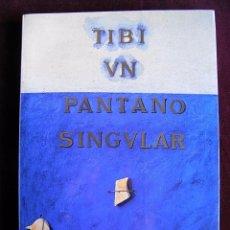 Libros de segunda mano: TIBI, UN PANTANO SINGULAR.1989, VV.AA. 155 PP, RUSTICA SOLAPA,28X19,GENERALITAT VALENCIANA. Lote 107656823