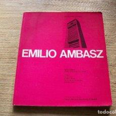 Libros de segunda mano: EMILIO AMBASZ . OBRAS Y PROYECTOS . 1972 - 1984 .. Lote 108764539