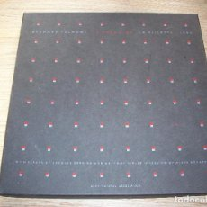 Libros de segunda mano: FOLIO VIII . BERNARD TSCHUMI . LA CASE VIDE . LA VILLETTE . ARCHITECTURAL ASSOCIATION 1985 .. Lote 108873847