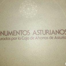 Libros de segunda mano: MONUMENTOS ASTURIANOS RESTAURADOS POR LA CAJA DE AHORROS DE ASTURIAS. AÑO 1978. RÚSTICA GRAN FORMATO. Lote 109093707