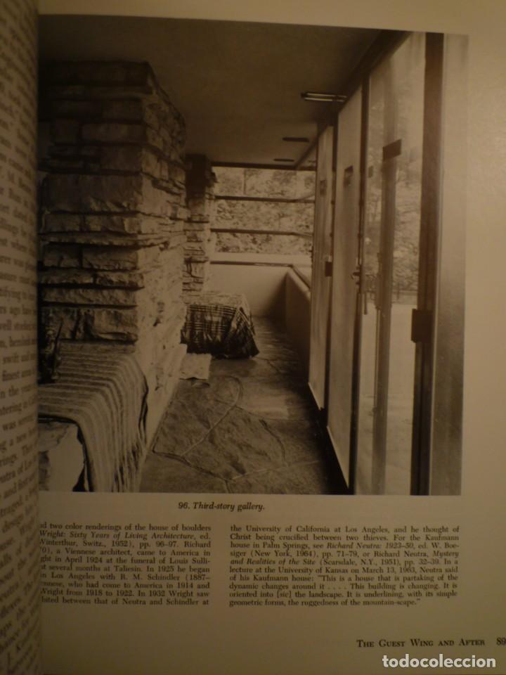Libros de segunda mano: FRANK LLOYD. FALLINGWATER. THE HOUSE AND ITS HISTORY. DOVER PUBLICATIONS. NUEVA YORK. 1978 - Foto 2 - 109198595