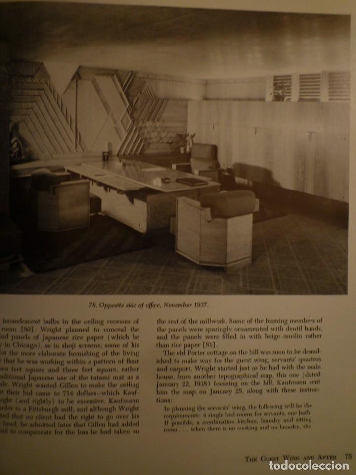Libros de segunda mano: FRANK LLOYD. FALLINGWATER. THE HOUSE AND ITS HISTORY. DOVER PUBLICATIONS. NUEVA YORK. 1978 - Foto 4 - 109198595