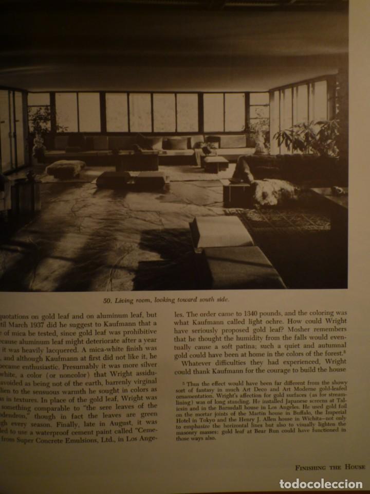 Libros de segunda mano: FRANK LLOYD. FALLINGWATER. THE HOUSE AND ITS HISTORY. DOVER PUBLICATIONS. NUEVA YORK. 1978 - Foto 5 - 109198595