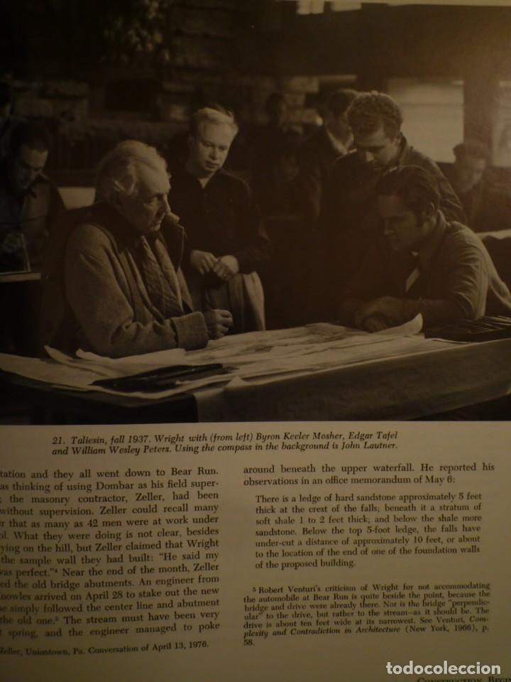 Libros de segunda mano: FRANK LLOYD. FALLINGWATER. THE HOUSE AND ITS HISTORY. DOVER PUBLICATIONS. NUEVA YORK. 1978 - Foto 7 - 109198595