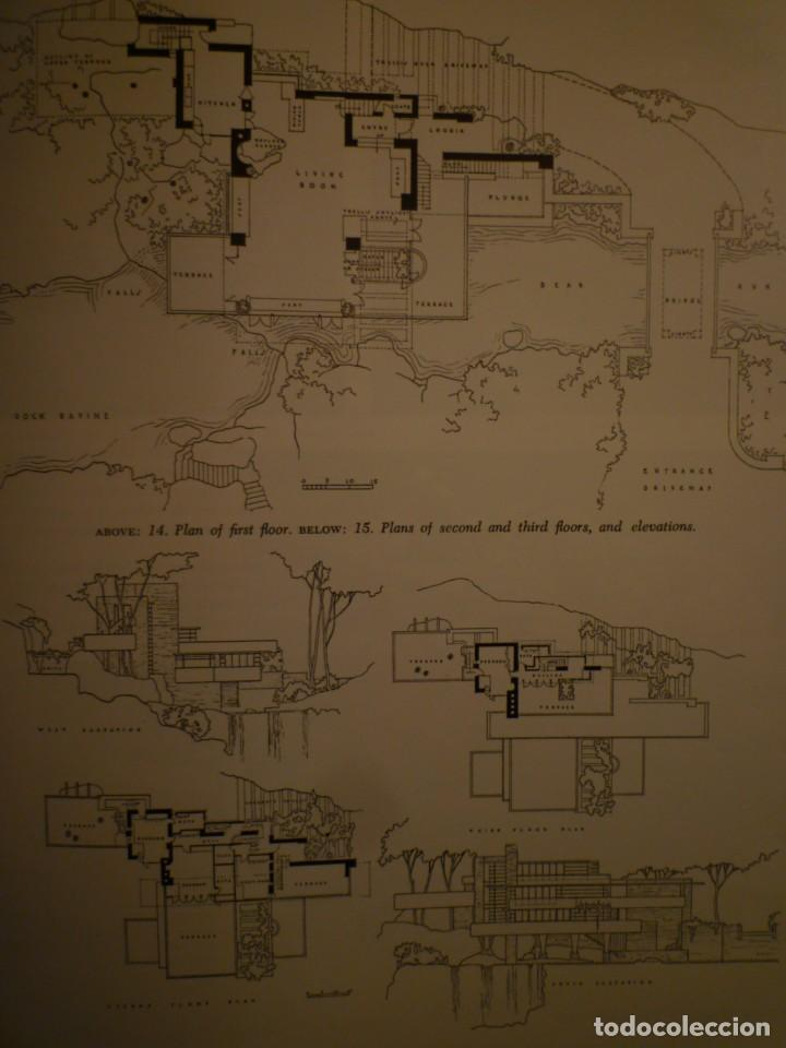 Libros de segunda mano: FRANK LLOYD. FALLINGWATER. THE HOUSE AND ITS HISTORY. DOVER PUBLICATIONS. NUEVA YORK. 1978 - Foto 8 - 109198595