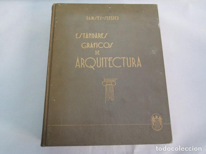 Libros de segunda mano: ESTANDARES GRAFICOS DE ARQUITECTURA. RAMSEY - SLEEPER. U. TIPOGRAFICA EDITORIAL HISPANO AMERICA 1962 - Foto 6 - 109542607
