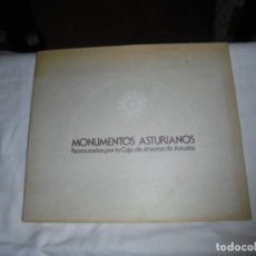 Libros de segunda mano: MONUMENTOS ASTURIANOS RESTAURADOS POR LA CAJA DE AHORROS DE ASTURIAS.OVIEDO 1978. Lote 109885419