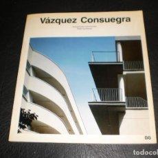 Libros de segunda mano: VAZQUEZ CONSUEGRA - GUSTAVO GILI 1992 - CATALOGOS DE ARQUITECTURA CONTEMPORANEA. Lote 110233779