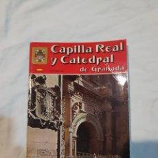 Libros de segunda mano: CAPILLA REAL Y CATEDRAL DE GRANADA EN FOTOGRAFÍAS. Lote 110908835