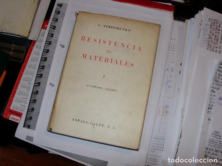 RESISTENCIA DE MATERIALES TOMO 1 DE S. TIMOSHENKO (Libros de Segunda Mano - Bellas artes, ocio y coleccionismo - Arquitectura)