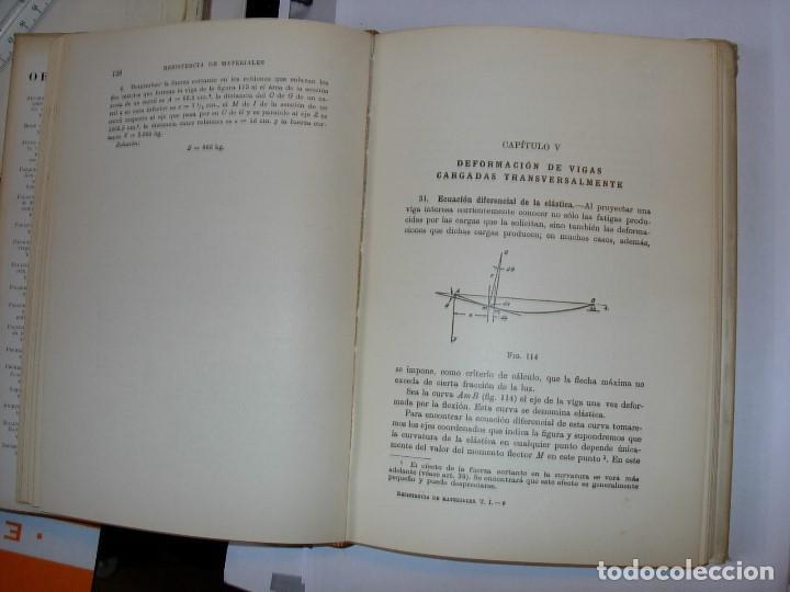 Libros de segunda mano: RESISTENCIA DE MATERIALES Tomo 1 de S. TIMOSHENKO - Foto 3 - 111282199