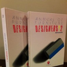 Libros de segunda mano: ANNUAL OF FORNITURE DESIGNERS 2 - EUROPEAN MÁSTERS- ATRIUM. Lote 111348839