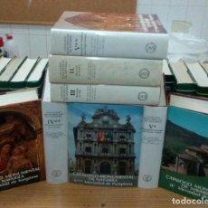 Libros de segunda mano: CATÁLOGO MONUMENTAL DE NAVARRA. 8 VOLÚMENES.. Lote 111442031