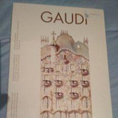 Libros de segunda mano: GAUDI. DIBUIXAT PELS ESTUDIANTS DE L'ESCOLA TÈCNICA SUPERIOR D' ARQUITECTURA DE BARCELONA. NUEVO. Lote 111543095