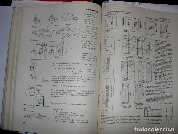 Libros de segunda mano: NEUFERT, EDICION ALEMANA 1938 - Foto 5 - 111616251