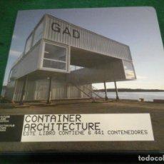 Libros de segunda mano: CONTAINER ARCHITECTURE (ESTE LIBRO CONTIENE 6.441 CONTENEDORES) - JURE KOTNIK. Lote 155837368