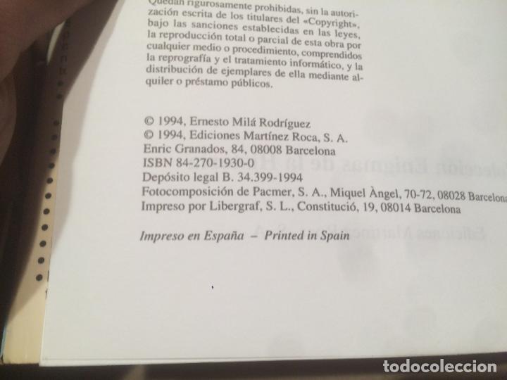 Libros de segunda mano: Antiguo libro el misterio de Gaudí escrito por Ernesto Milá año 1994 - Foto 3 - 111929391
