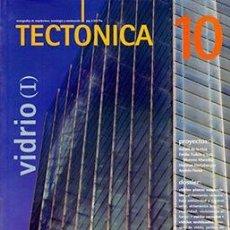 Libros de segunda mano: TECTÓNICA 10 VIDRIO (I) - REVISTA ARQUITECTURA. Lote 111984403