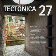 Libros de segunda mano: TECTÓNICA 27 PIEDRA - REVISTA ARQUITECTURA. Lote 111986803