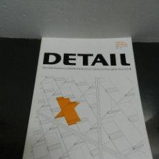 Libros de segunda mano: DETAIL REVISTA DE ARQUITECTURA Y DETALLES CONSTRUCTIVOS 2006 05 EN ESPAÑOL. Lote 112240667