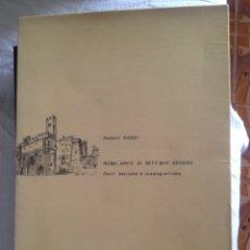 Libros de segunda mano: ROMA, ARCO DI SETTIMIO SEVERO. TESI DI ROBERTO NARDI. Lote 113653263