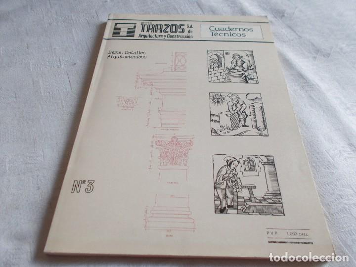 CUADERNOS TÉCNICOS Nº 3 TRAZOS (Libros de Segunda Mano - Bellas artes, ocio y coleccionismo - Arquitectura)