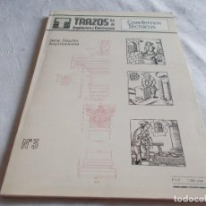 Libros de segunda mano: CUADERNOS TÉCNICOS Nº 3 TRAZOS. Lote 113849227
