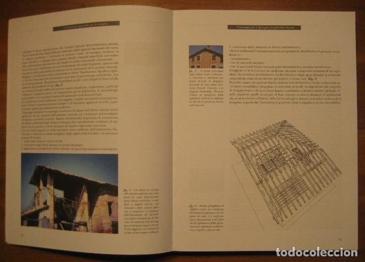 Libros de segunda mano: TECNOLOGIE PER IL RECUPERO DEGLI EDIFICI RURALI. ESPERIENZE IN EMILIA ROMAGNA. - Foto 2 - 113952495