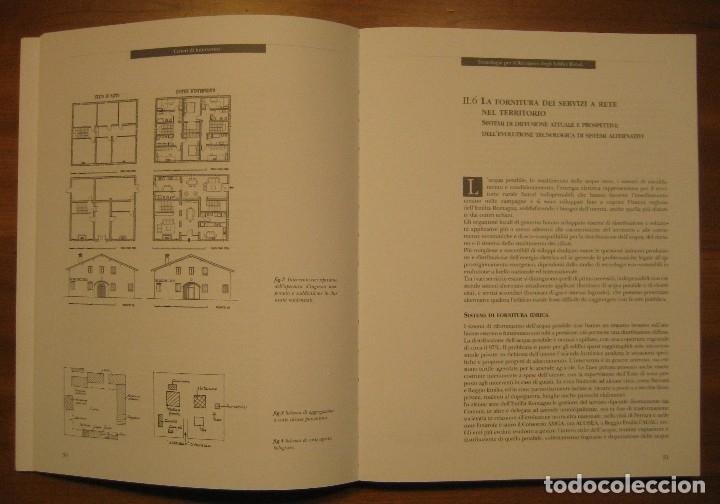 Libros de segunda mano: TECNOLOGIE PER IL RECUPERO DEGLI EDIFICI RURALI. ESPERIENZE IN EMILIA ROMAGNA. - Foto 6 - 113952495