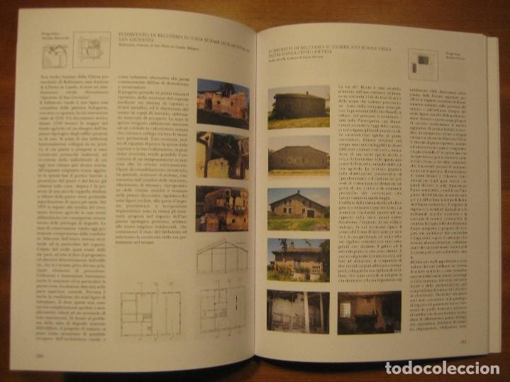 Libros de segunda mano: TECNOLOGIE PER IL RECUPERO DEGLI EDIFICI RURALI. ESPERIENZE IN EMILIA ROMAGNA. - Foto 19 - 113952495