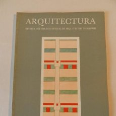 Libros de segunda mano: ARQUITECTURA 250 (COAM) REVISTA SEPTIEMBRE 1984. Lote 270631378