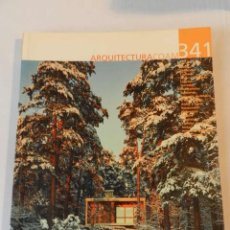 Libros de segunda mano: ARQUITECTURA 341 (COAM) REVISTA 2005 ANDRÉS PEREA ORTEGA. Lote 114564883
