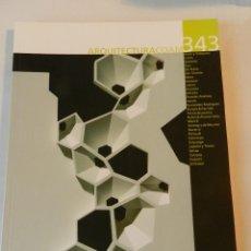 Libros de segunda mano: ARQUITECTURA 343 (COAM) REVISTA 2006 . Lote 114566279