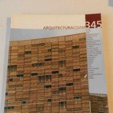 Libros de segunda mano: ARQUITECTURA 345 (COAM) REVISTA 2006 . Lote 114566891
