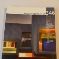 Libros de segunda mano: ARQUITECTURA 346 (COAM) REVISTA 2006 . Lote 114567535