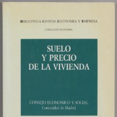 Libros de segunda mano: SUELO Y PRECIO DE LA VIVIENDA. Lote 114584655