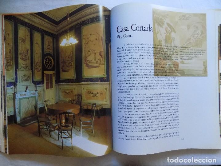 Libros de segunda mano: LIBRERIA GHOTICA. ORIOL PI DE CABANYES. CASES SENYORIALS DE CATALUNYA. 1990. FOLIO. MUY ILUSTRADO - Foto 2 - 114641659