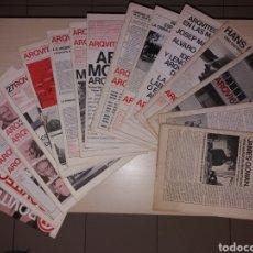 Libros de segunda mano: LOTE, ARQUITECTURAS BIS. Lote 114848876