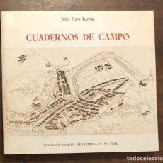 Libros de segunda mano: CUADERNOS DE CAMPO(38€). Lote 116639327