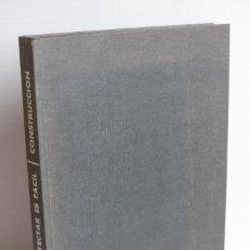 Libros de segunda mano: PROYECTAR ES FÁCIL - CONSTRUCCIÓN - TOMO I. Lote 116740695